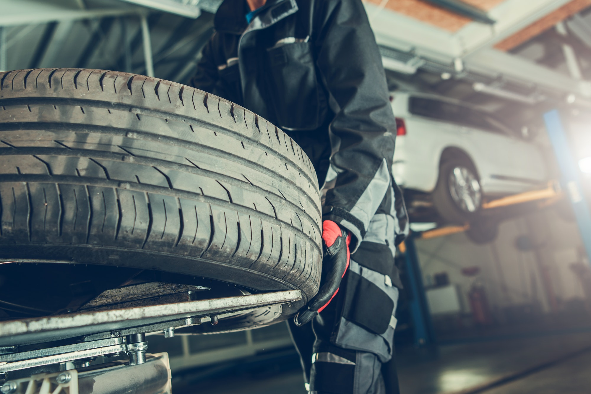 Vulcanizer Tire Replacement